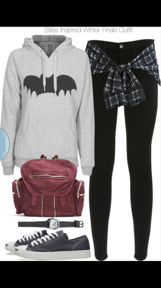 sweater outfit tumblr pls yes cute polyvore