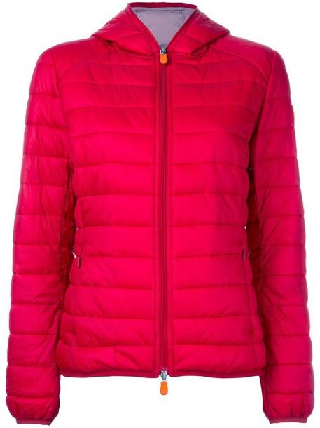 jacket women red