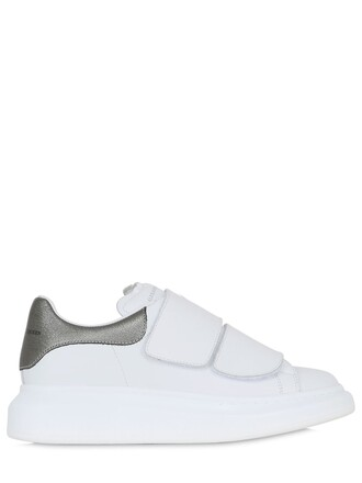 metallic sneakers metallic sneakers leather silver white shoes