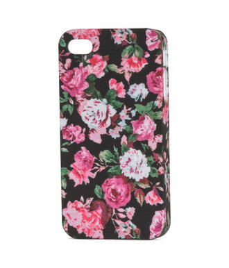 phone cover iphone 4 case iphone 5 case iphone 4s iphone case iphone cover floral flowers pink roses