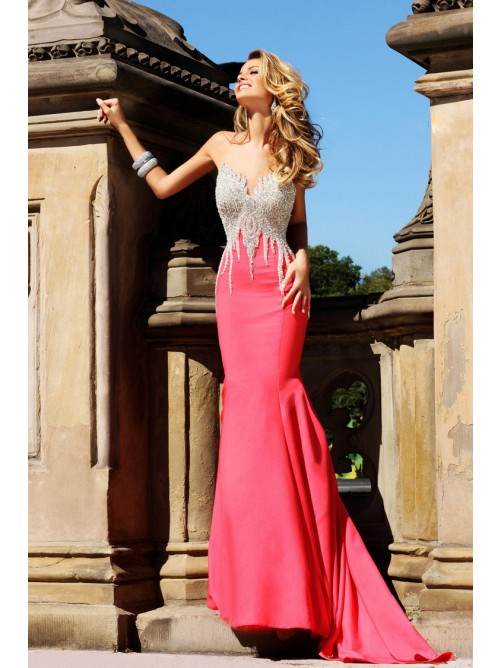 New Sweetheart Neckline Beading Evening Dresses
