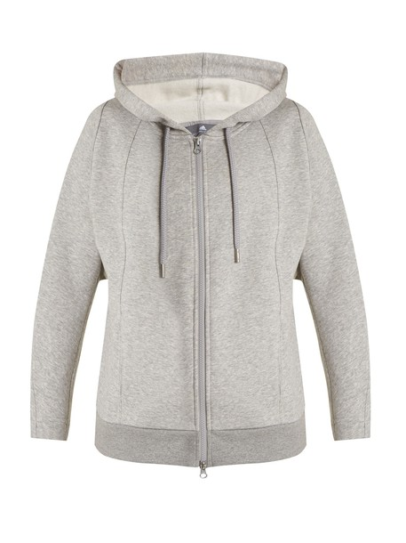 ADIDAS BY STELLA MCCARTNEY sweatshirt zip grey sweater
