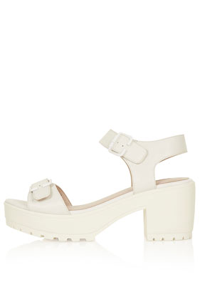 Nation 2-Part Cleated Sandals - Heels - Shoes - Topshop USA