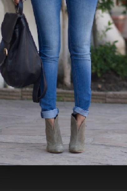 shoes tan heels booties