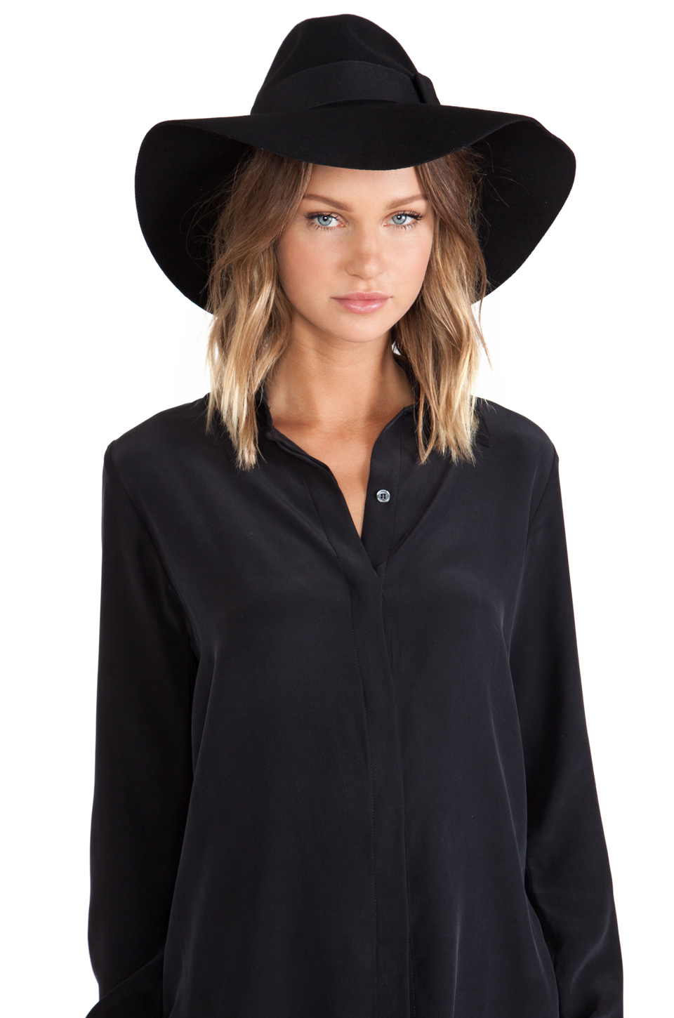 Brixton piper hat in black from revolveclothing.com