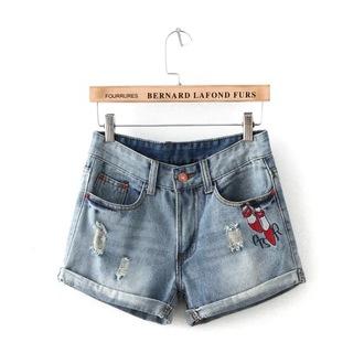 shorts denim shorts sexy shorts printed shorts