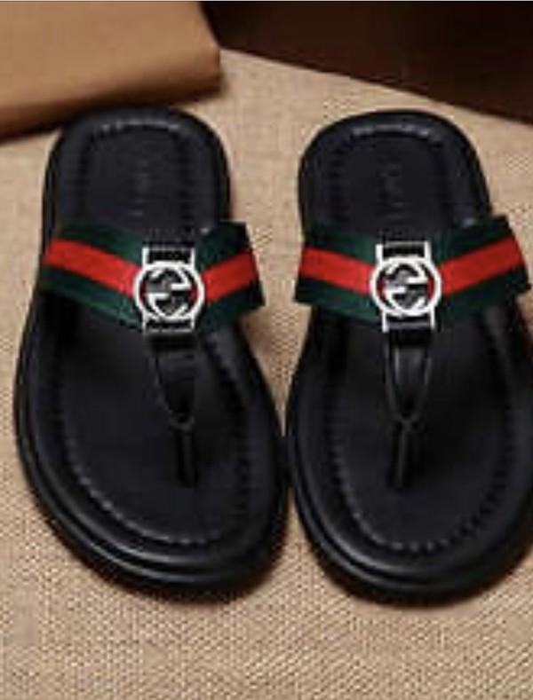 d3e1db0d2acd1c Gucci Web strap thong sandal