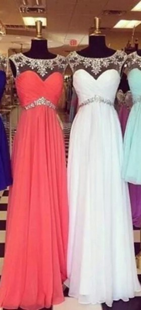 dress prom dress long diamonds