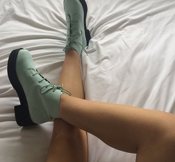 shoes cute green shoes green fashion