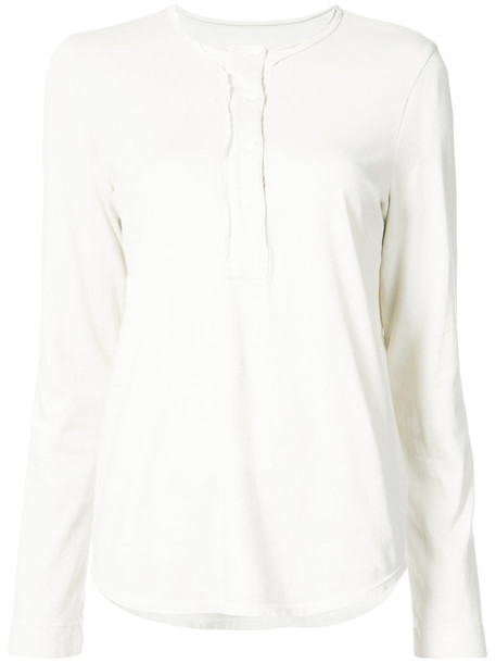 Raquel Allegra blouse women white cotton top
