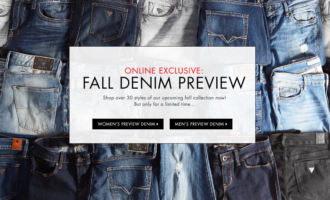 Jeans, Clothing & Accessories for Men and Women: Shop the Latest ...