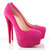 Netherlands Christian Louboutin Daffodile 160mm Suede Pumps Hot Pink