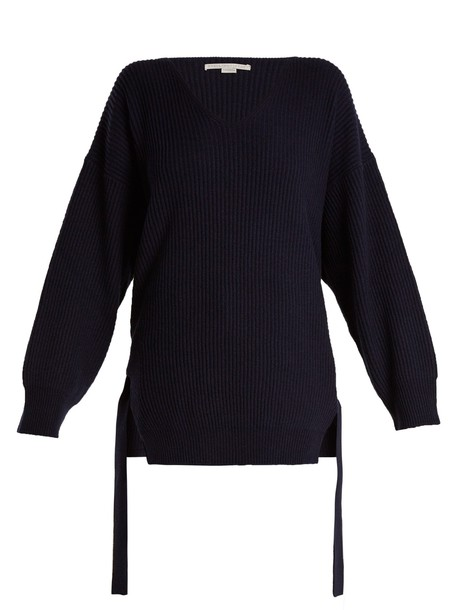 Stella McCartney sweater knit navy