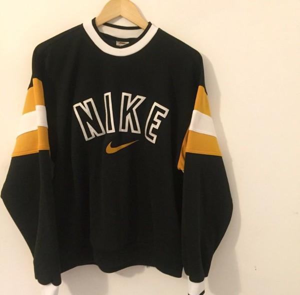 Sweater Vintage Nike Sweatshirt Wheretoget