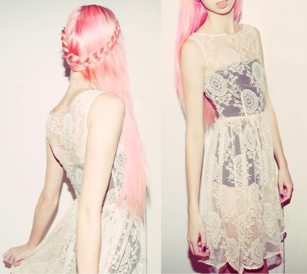 dress china lace dress lace dress pastel american apparel underwear
