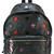 Saint Laurent star logo backpack, Black, Leather