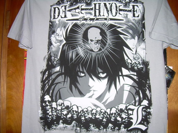 t-shirt anime deathnote