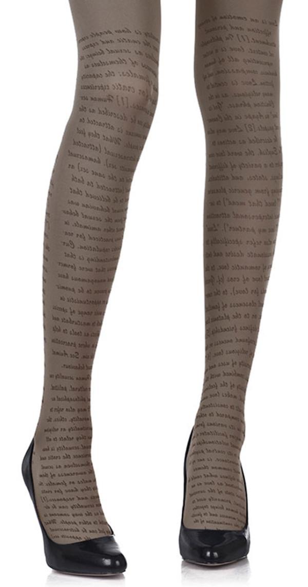 pants tights printed tights