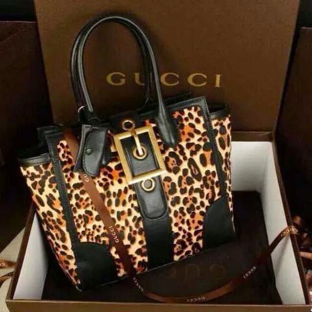 bag lepoard print purse black purse