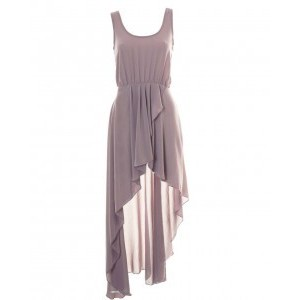 LOVE Rose Asymmetrical Maxi Dress - Polyvore