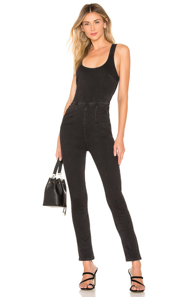 Free People Scarlet Jumpsuit in black