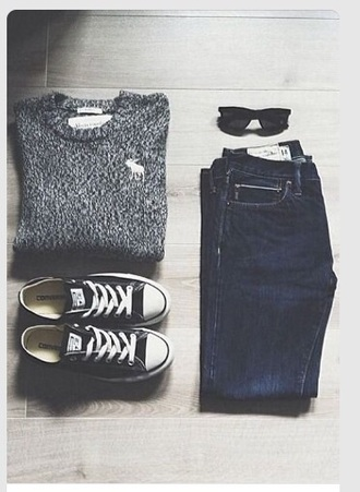 sweater abercrombie & fitch