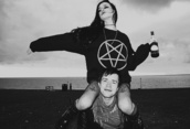 sweater,satan,black,jumper