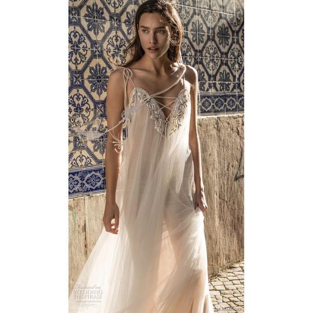 dress trainers spaghetti strap wedding dresses beading ivory dress sweet