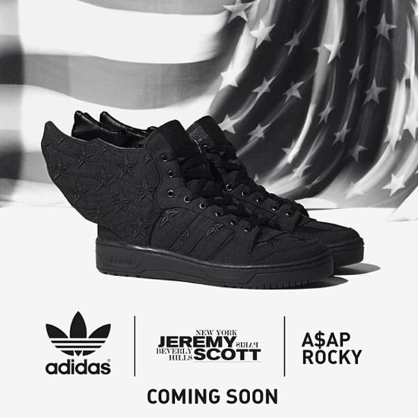 shoes sneakers jeremy scott asap ASAP Rocky adidas
