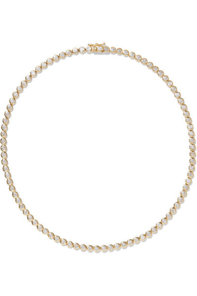 JENNIFER MEYER necklace diamond necklace gold jewels