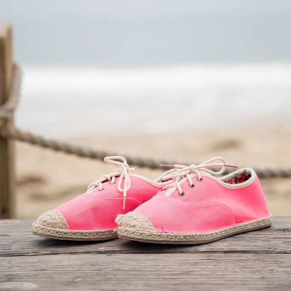 shoes neon neon pink pink shoes casual comfy shoes style fashion qupid espadrilles