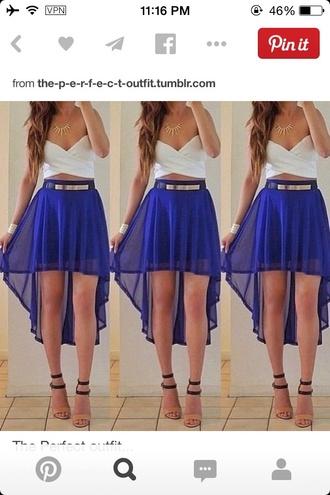 dress homecoming dress formal dress highlowskirt
