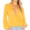 House of harlow 1960 x revolve joli blouse in mustard from revolve.com