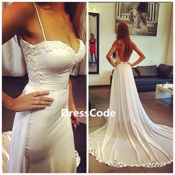 Sexy Wedding Beach Dresses