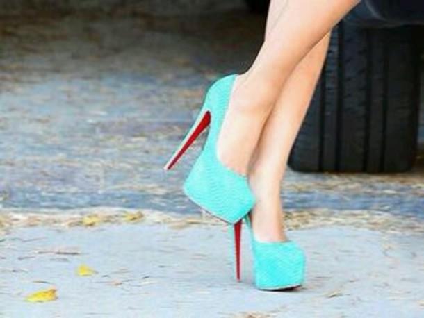 69a43b286e59 shoes louboutin tiffany blue prom louboutin turqoise heels cute high heels