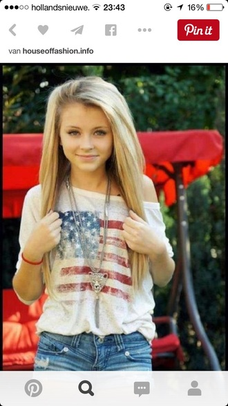 t-shirt shirt american flag
