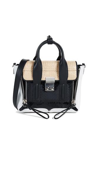 satchel mini black bag