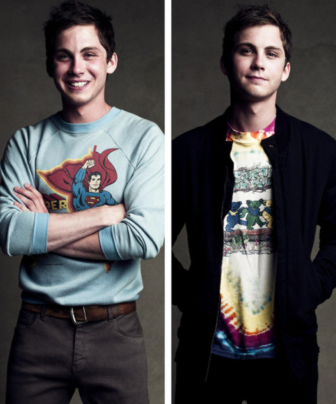 superman sweater cool long sleeve logan lerman