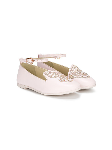 Sophia Webster Mini butterfly leather purple pink shoes