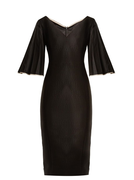 CARL KAPP dress wool black