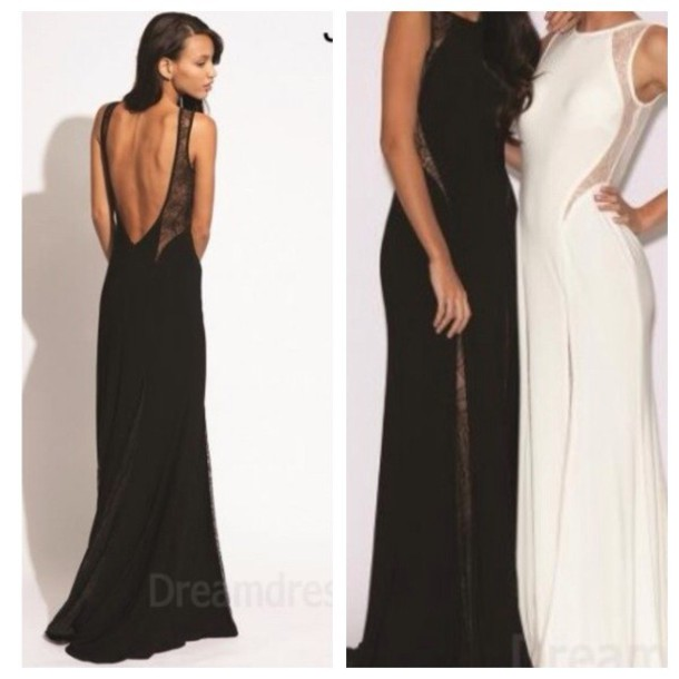 dress, black, jovani, floor length, ball gown dress, ball gown dress ...