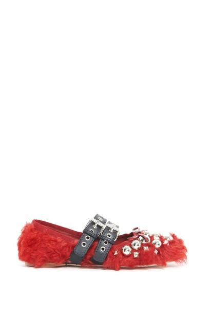Miu Miu shoes red