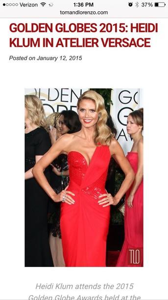 dress red dress red