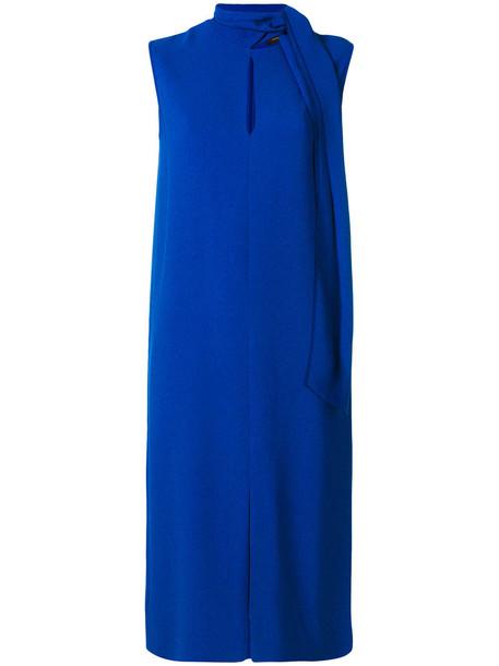 Joseph dress women spandex blue