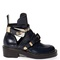 Ceinture cut-out leather ankle boots | balenciaga | matchesfashion.com us