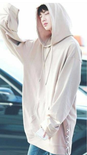 sweater nude bts hoodie