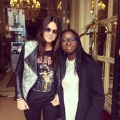 jacket,leather jacket,kendall and kylie jenner,kardashians,black and white,punk,acid wash