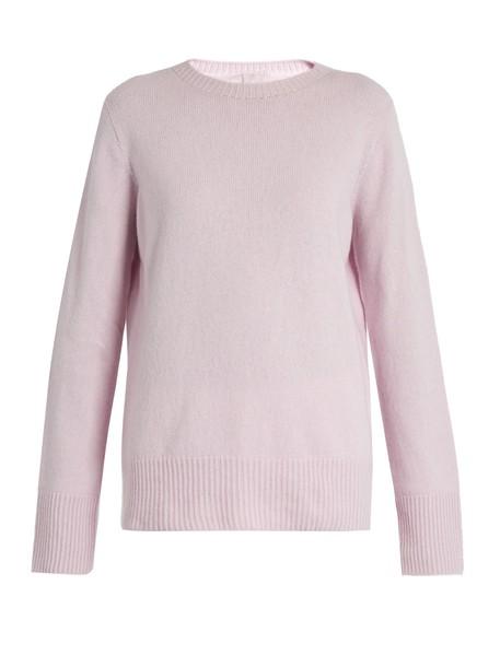 sweater wool light pink light pink