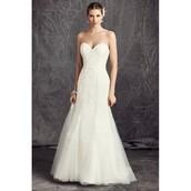 dress,madame de rosa,cathedral wedding dresses,wedding dress,mermaid prom dress,sweetheart dress