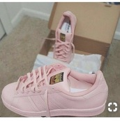 shoes,all pink adidy